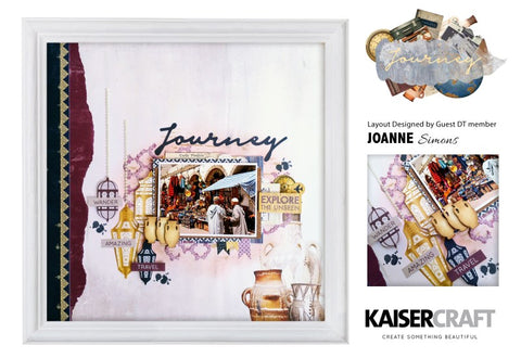 Kaisercraft - Journey - Clear Stamp
