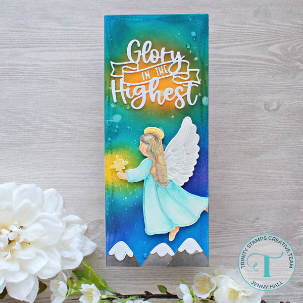 Trinity Stamps - Glory In The Highest Die Set