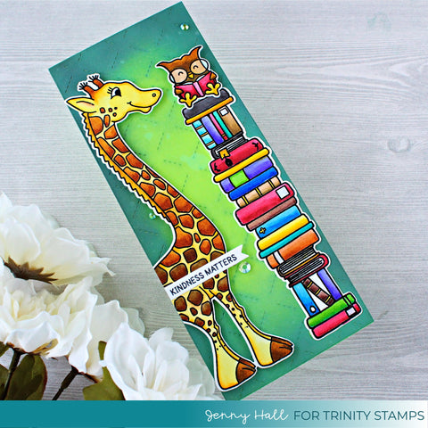 Trinity Stamps - 4x8 Tall Tales Stamp Set