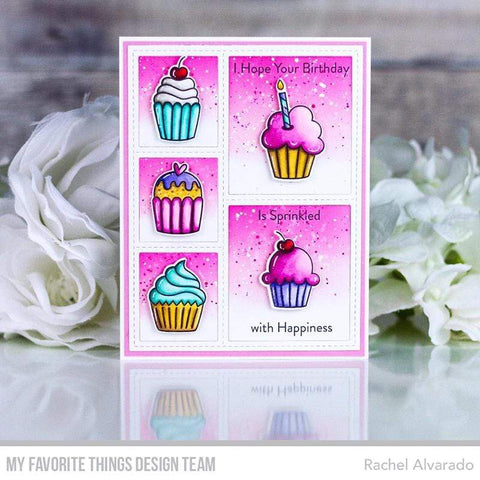 My Favorite Things - All the Cupcakes Stamps