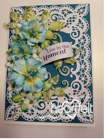 Heartfelt Creations - Leafy Accents Stamp and Die Sets