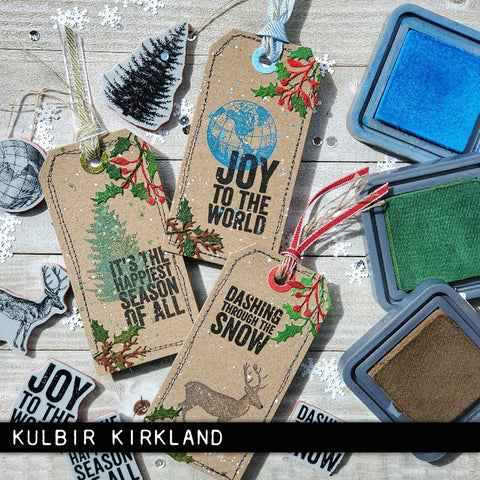 Stampers Anonymous - Tim Holtz - Holiday Things Cling Mounted Rubber Stamps