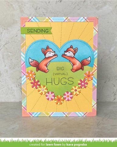 Lawn Fawn - Butterfly Kisses Flip-flop Stamps