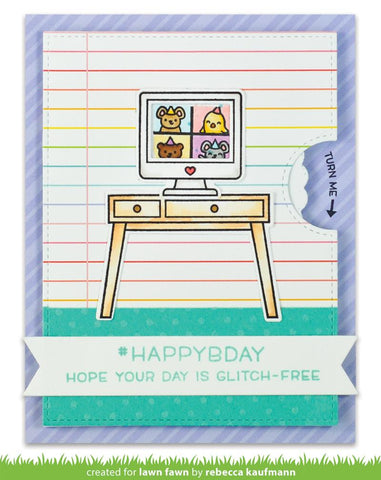 Lawn Fawn - Virtual Friends Stamps