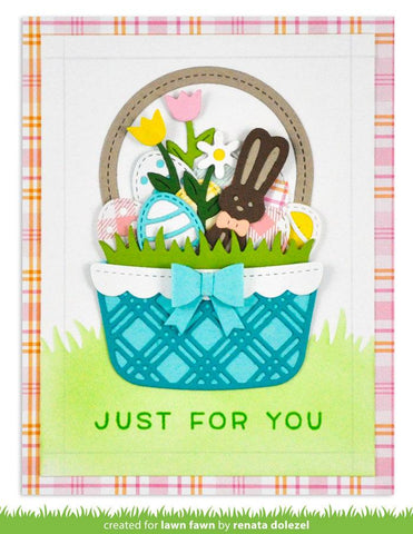 Lawn Fawn - Build-a-basket: Easter Dies