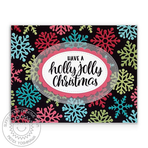 Studio Stamps -  Scalloped Oval Mat 1 Die