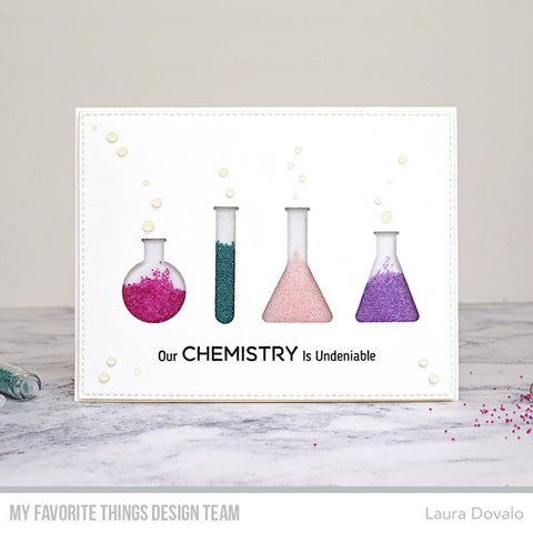 My Favorite Things - LLD Undeniable Chemistry Stamps and Dies
