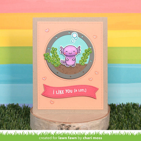 Lawn Fawn - I Like You (a lotl) Stamp