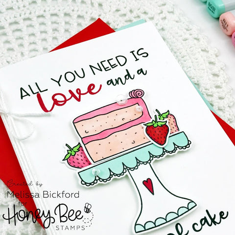 Honey Bee Stamps - Piece Of Cake - Honey Cuts