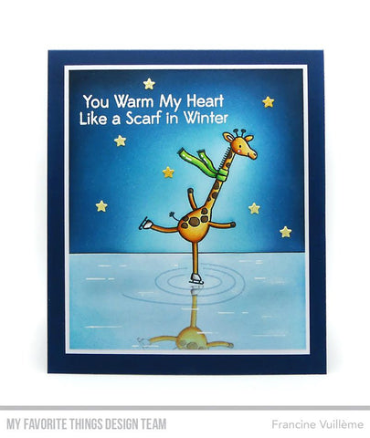 My Favorite Things - Giraffes on Ice Stamps and Die-namics