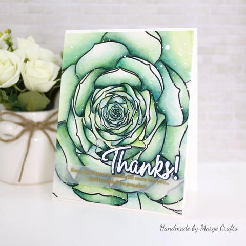 Altenew - Mega Succulent Stamp Set