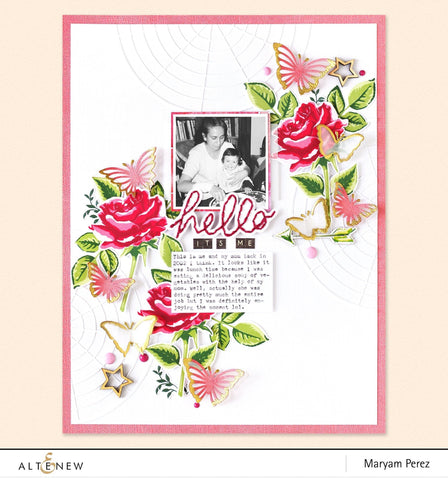 Altenew - Classic Beauty Stamp and Die Set
