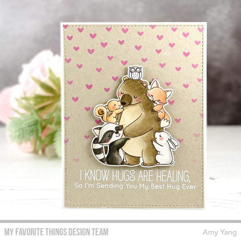 My Favorite Things - BB Hug It Out Stamp and Die-namics
