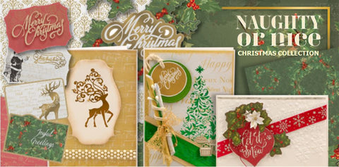 Couture Creations - Naughty or Nice Christmas Collection
