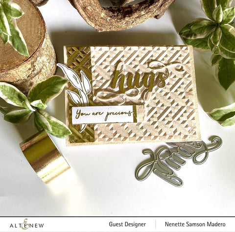 Altenew - Connected 3D Embossing Folder