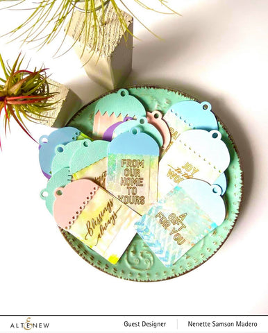 Altenew - Holiday Tag Sentiments Stamp Set
