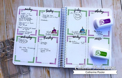 Catherine Pooler - Doodle Garden Canvo Journal