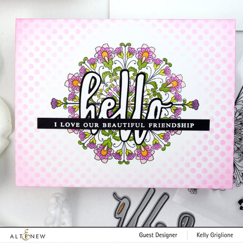 Altenew - Ornamental Bliss Stamp and Die