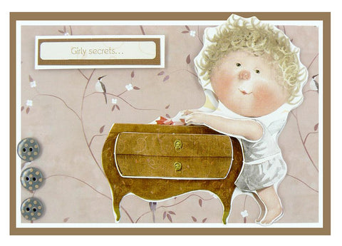 Gapchinska Supplier of Happiness Decoupage Sheet - Dressing