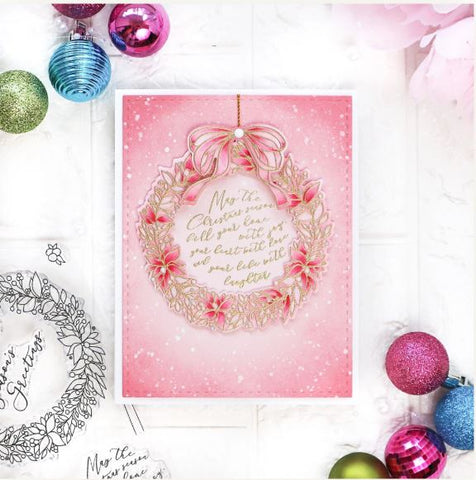Pink Fresh Studio - Season's Greetings - Stamp and Die