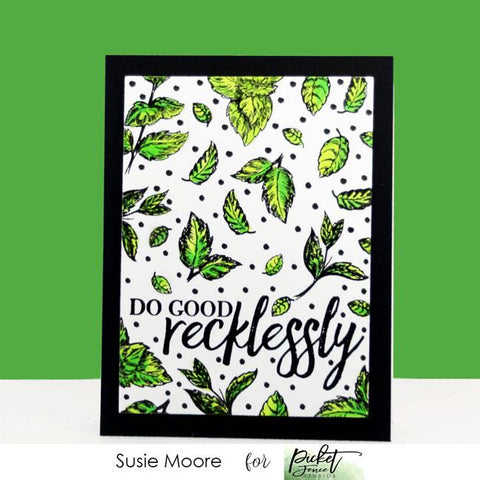 Picket Fence Studios - Leaves for Flowers Stamp and Die
