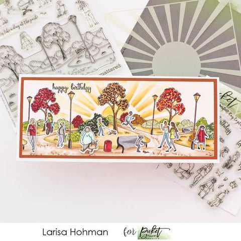 Picket Fence Studios - A Walk in the Park & More Walk in the Park Stamps and Dies