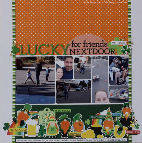 PhotoPlay Paper - Tulla & Norbert's Lucky Charm Double-Sided Cardstock 12x12 - Luck Of The Irish