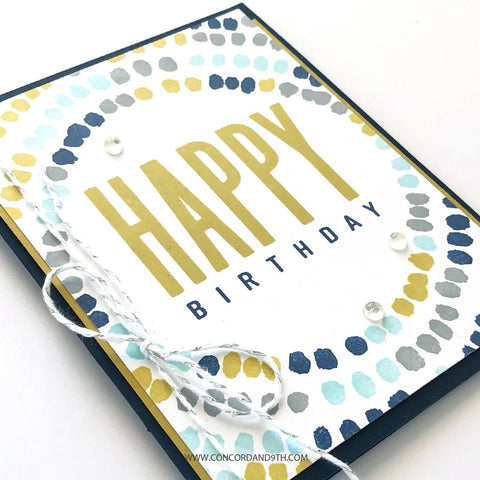 Concord & 9th - All The Birthdays Stamps