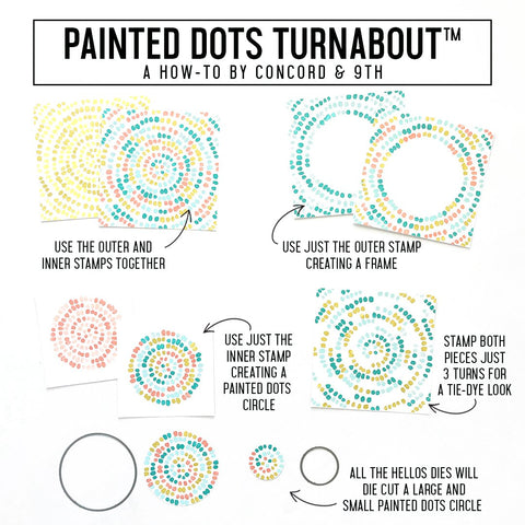 Concord & 9th - Painted Dots Double Turnabout