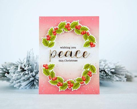 Altenew - Peaceful Wreath Stamp and Die