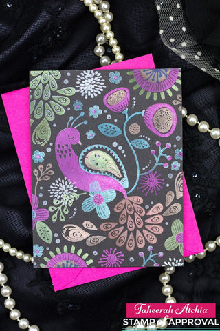 Catherine Pooler Paisley Peacock Stamp & Die Bundle