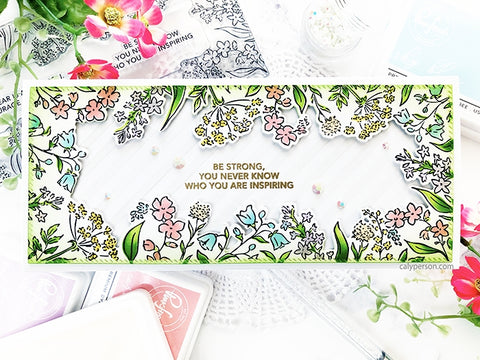 Pinkfresh - Be Courageous Stamp Set