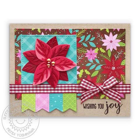 Sunny Studio August 2021 Collection Paper Pad All is Bright 6 x 6