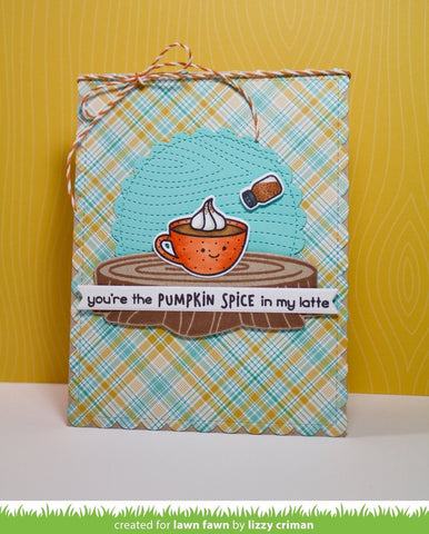 Lawn Fawn Perfectly Plaid Chill Petite Paper Pack