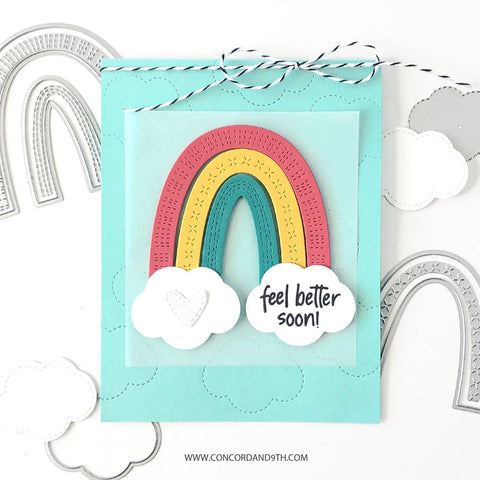 Concord & 9th - Rainbow Sayings Stamp Set