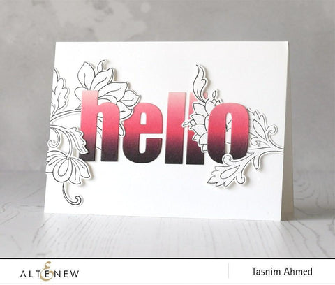 Altenew - Red Ombre Washi Tape