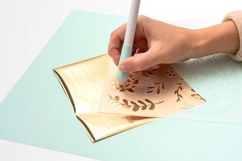 We R Foil Quill Free Style Stencils