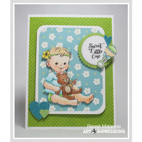 5185 – Baby Girl Clear Stamp Set