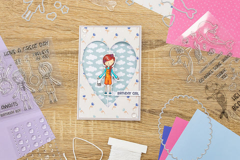 Copy of Crafter's Companion Craft Box Kit - Twirling Characters #31