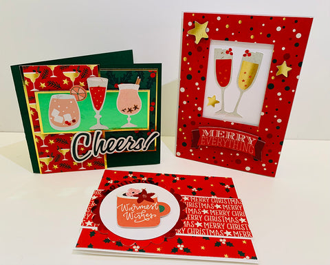 """Reminisce Collection Kit 12""""X12"""" - Christmas Wishes"""