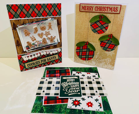 """Reminisce Collection Kit 12""""X12"""" - Rustic Christmas"""