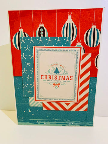 """Reminisce Collection Kit 12""""X12"""" - Vintage Christmas"""