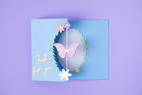 Sizzix - Thinlits Die Set 14PK - Butterfly Spinner Card