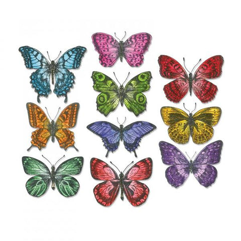 Sizzix Detailed Butterflies Die ThinLits