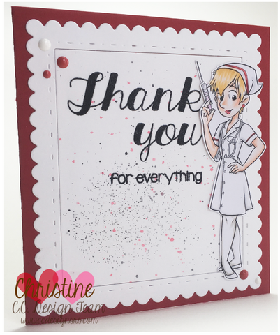 C.C. Designs - Thank You Sentiments Clear Stamp Set