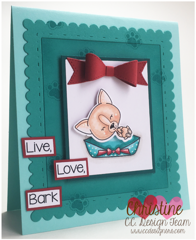 C.C. Designs - Barky Clear Stamp Set