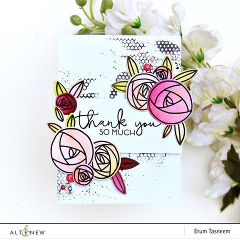 Altenew - Shades of Friendship Stamp Set