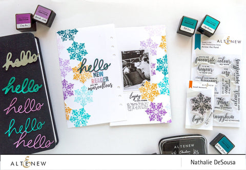 Altenew - Small Moments Stamp and Die Set