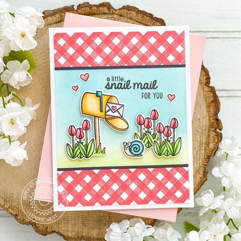 Sunny Studio Stamps - Snail Mail Stamps and Dies SSDIE-250