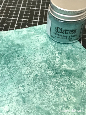 Distress Embossing Glaze - May Colour - Speckled Egg